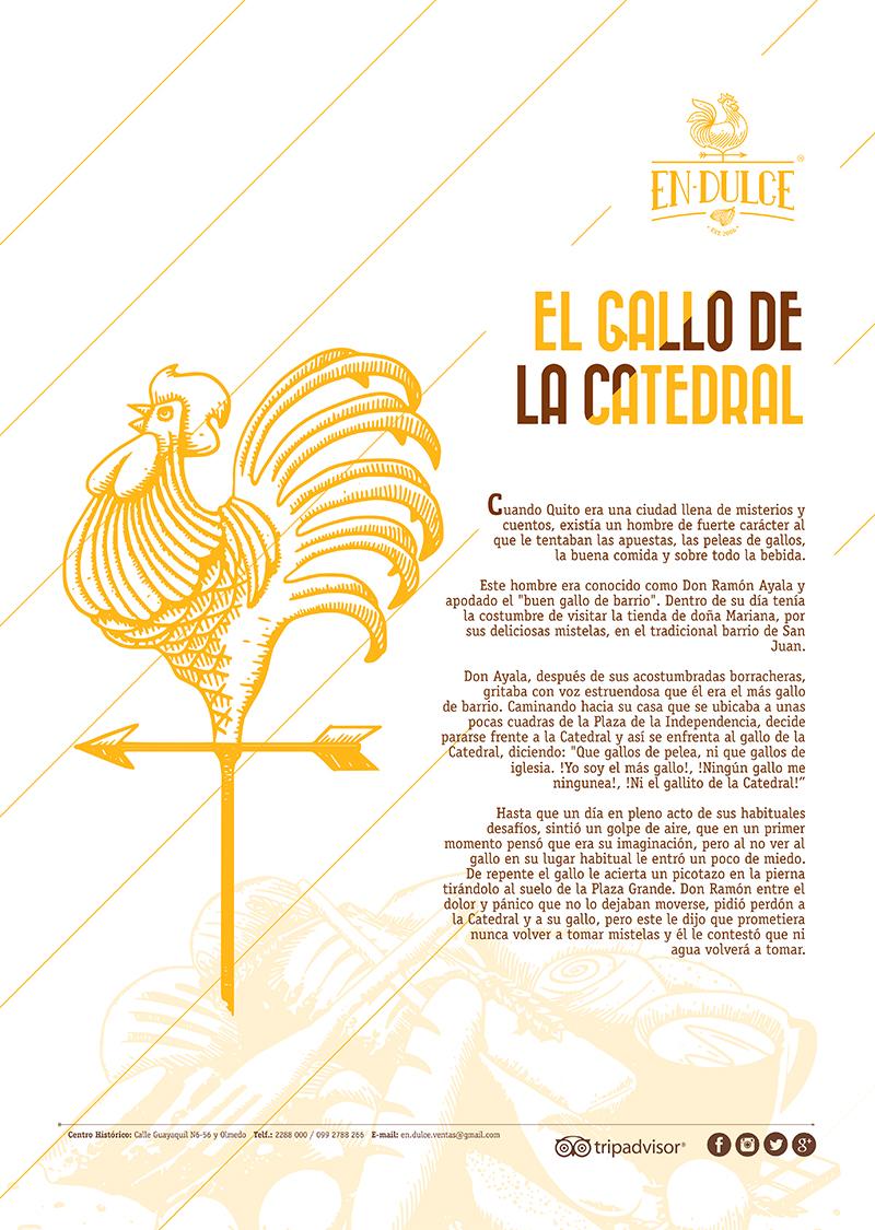 [Endulce] Afiches_Pared Gallo